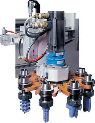 Automatic tool change 8 positions