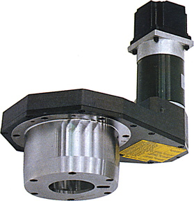 The rotor axis, which can be mount on the