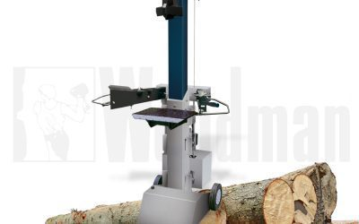 WOODMAN AV-1050 verticale houtklover