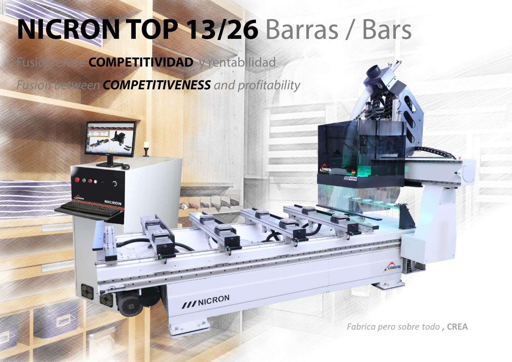 CNC NICRON 13-26 BARRAS CARA A
