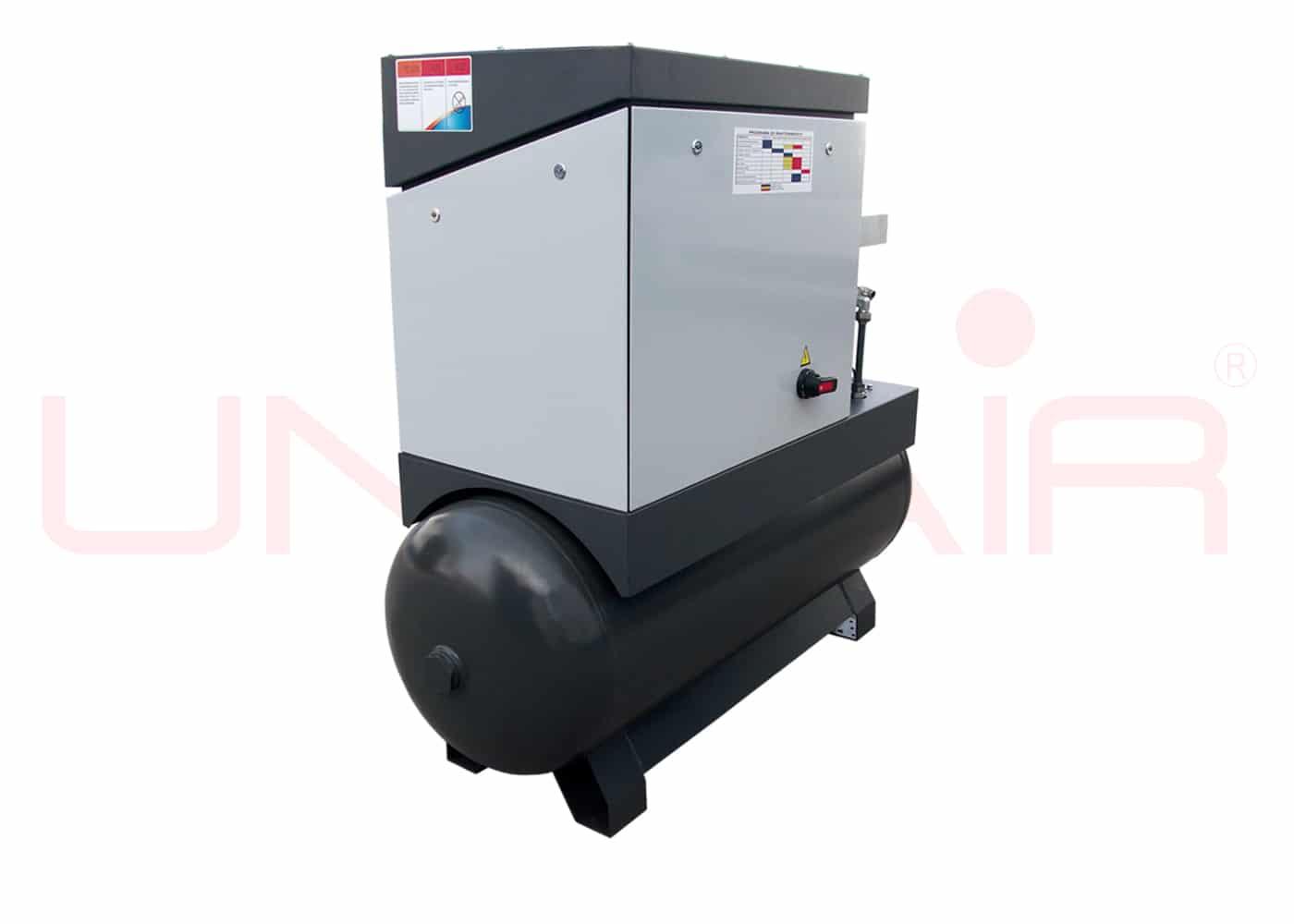 unicair-compressor-tandem-zijaanzicht