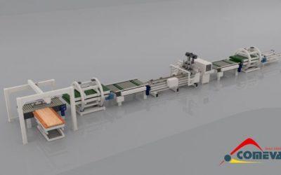 Comeva geautomatiseerde deurfreeslijn