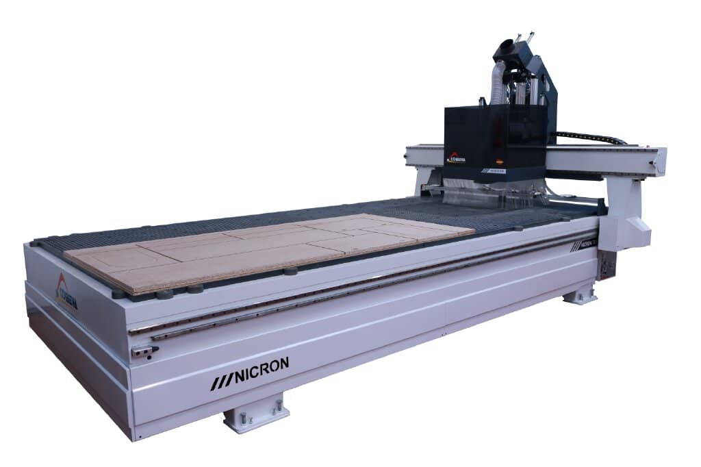 nicron deur cnc machine